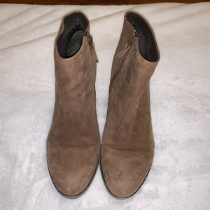 Franco Sarto ankle boots.